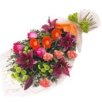 Bouquet of mix flowers